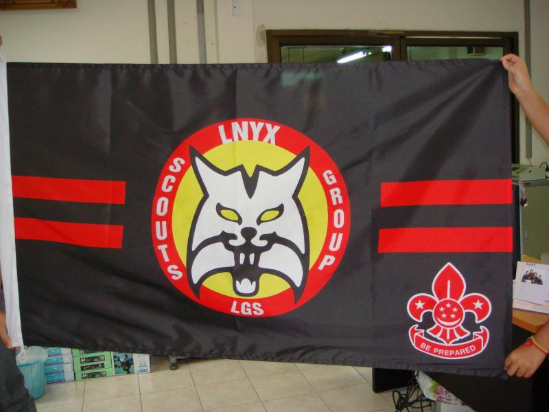 Singapore Scout Group Flag