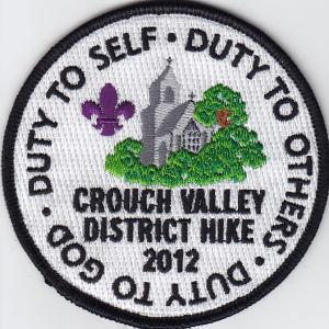 UK scout Badge